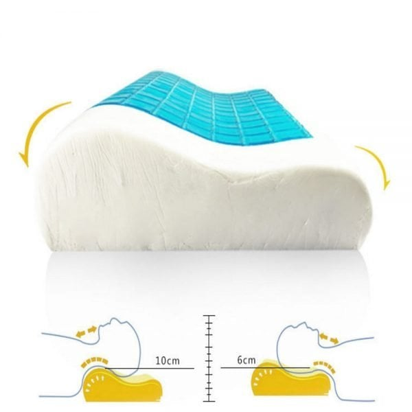 Gel Bedding pillow detail 3