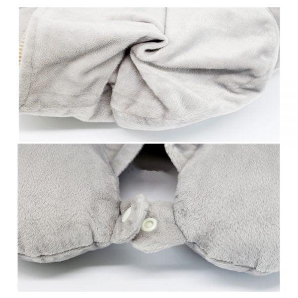 Hoodie Neck Pillow detail 1